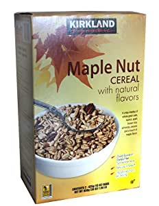 Kirkland Signature Maple Nut Cereal Two 15 oz. Bags