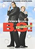 PENN & TELLER:BULLSHIT SEASON 3 - DVD Movie