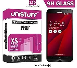 Unistuff™ 2.5D Curve Edge Premium HD Finish PRO+ Tempered Glass for Asus Zenfone 2 ZE551ML