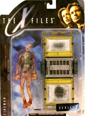 Picture of X-Files Fireman with Cooling Chamber Action Figure (B001RE4AKO) (X-Files Action Figures)