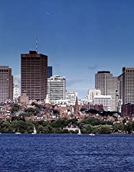 Boston View Photograph - Beautiful 16x20-inch Photographic Print by Carol M. Highsmith