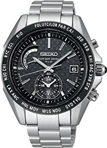 SEIKO BRIGHTZ Reinforced waterproof super clear coating sapphire glass Solar Radio Men 's watch SAGA119 [Japan Import]