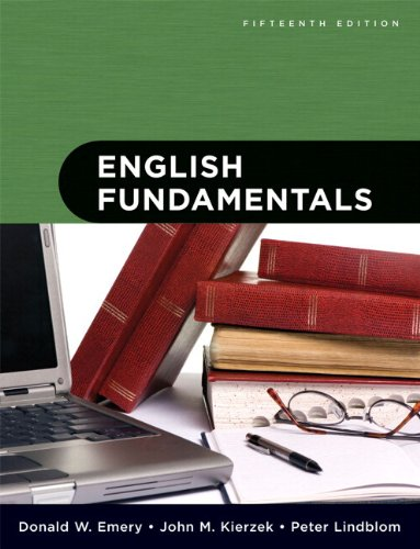 English Fundamentals (with MyWritingLab Student Access Code Card) (15th Edition)