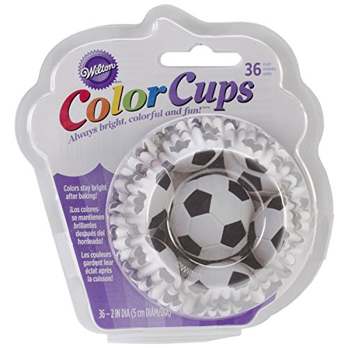 Wilton Standard Baking Cups, Soccer Color (Soccer Baking Cups compare prices)