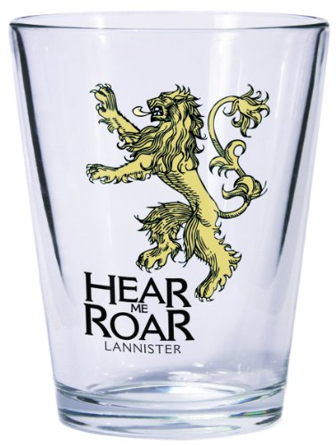 Dark Horse Deluxe Game of Thrones Shot Glass: Lannister Sigil