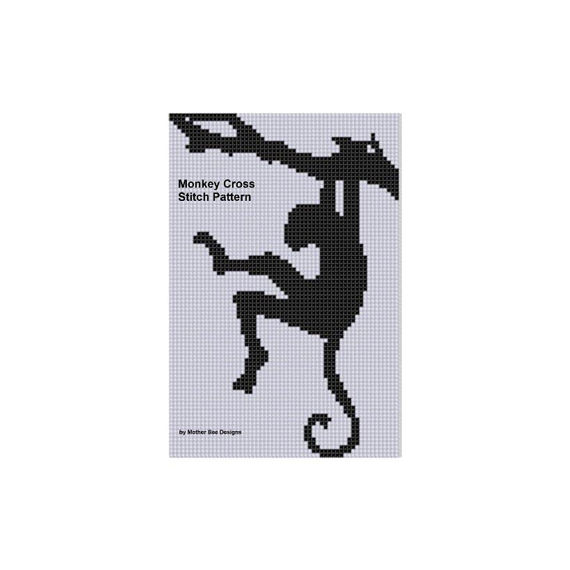 Monkey 3 Cross Stitch Pattern