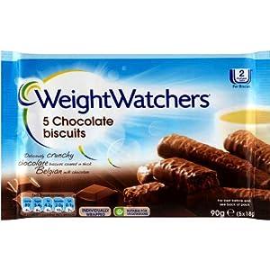 Weight Watchers Chocolate Biscuits X 5 90G