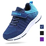 FEIKENIU Kids Tennis Shoes Boys Breathable Running Shoes Girls Sneaker Lightweight