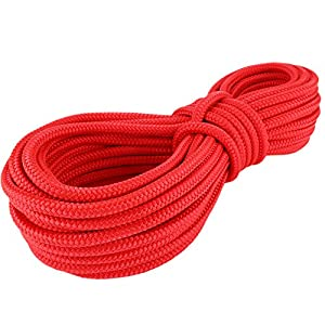 Polypropylenseil SH 6mm Meterware rot Polypropylen Seil Reepschnur Leine Schnur Festmacher Rope
