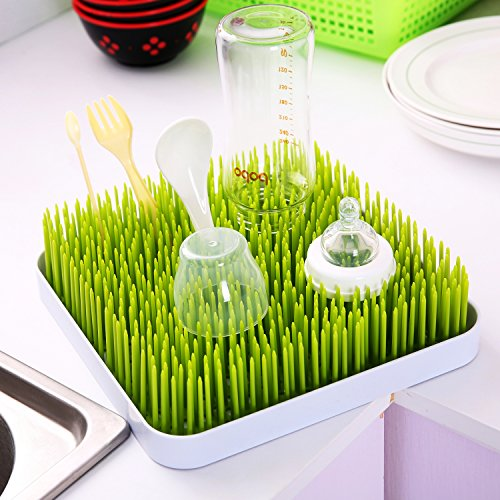 1 Rated Grass Lawn Countertop Drying Rack And Mat From