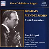 Brahms; Mendelssohn-Violin Concertos Joseph Szigeti
