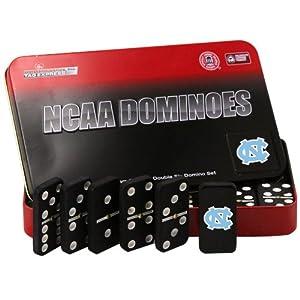 Buy NCAA North Carolina Tar Heels Domino Set in Metal Gift Tin by Rico
