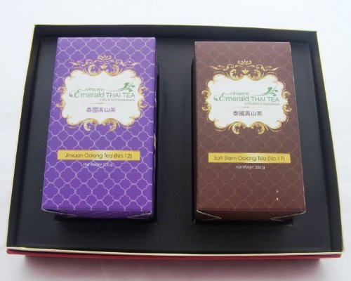 Organic Oolong Tea 2 Different Flavors Gift Set From Thailand