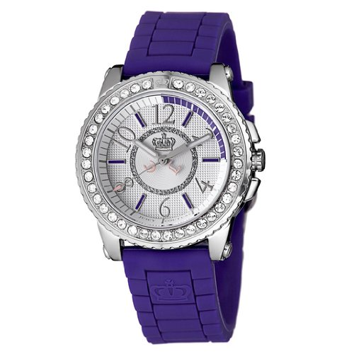 Juicy Couture Women's 1900790 Pedigree Grape Jelly Strap Watch
