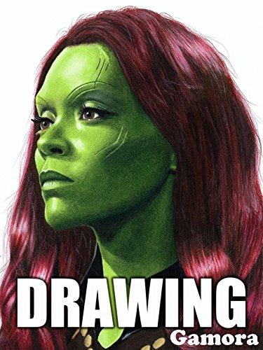 Clip: Drawing Gamora