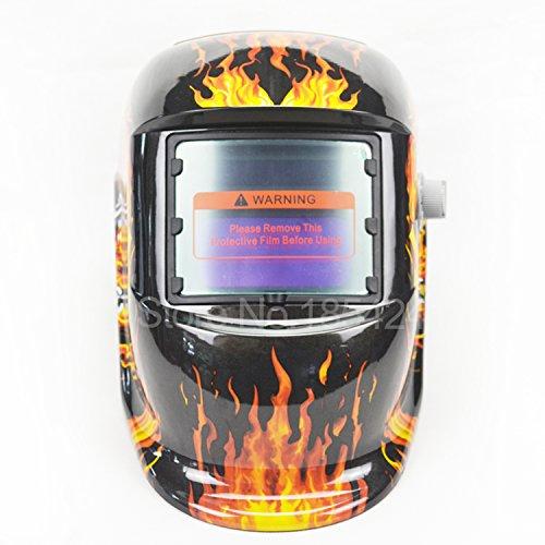 DEKO-Skull-Flame-Solar-Auto-Darkening-Welding-Helmet-Welding-Mask-Shipping-from-US-with-Box