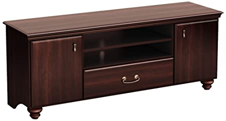 Noble Dark Mahogany Storage TV Stand