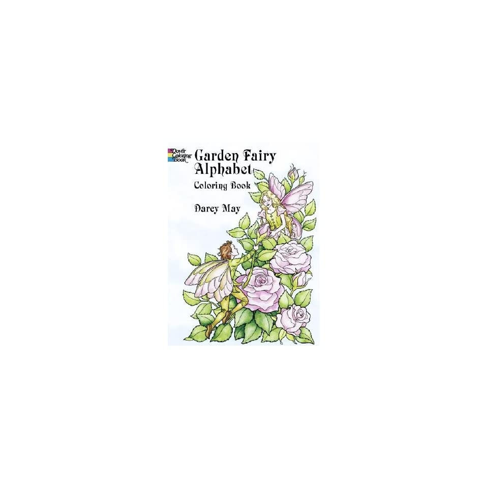 Fairy Alphabet Coloring Book [COLOR BK GARDEN FAIRY ALPHABET] Books