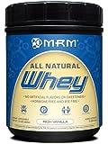 MRM All Natural Whey Protein Powder, Rich Vanilla, 16 oz