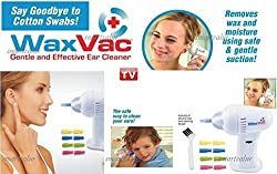 New Delux Amazing Wax Vac Ear Cleaner Clean Your Ears Easily