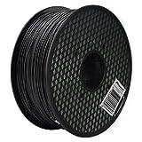Aspectek 3Dプリンター用PLA フィラメント【高品質で精密・天然素材を使用しており危険な物質を含まない】1kg (ブラック)