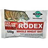 Elixir Rodex Whole Wheat Bait | 100g Sachets | Profesional Mouse & Rat Poison x 5