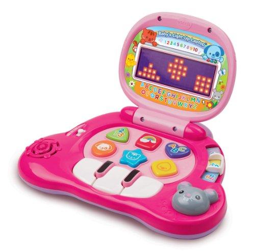 VTech Baby's Light-Up Laptop, Pink