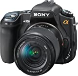 Sony Alpha DSLRA350K 14.2MP Digital SLR Camera with Super SteadyShot Image Stabilization DT 18-70mm f 3.5-5.6 Zoom Lens