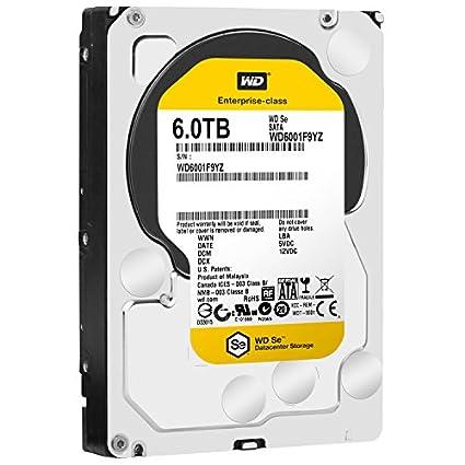Se (WD6001F9YZ) 6TB Internal Hard Drive