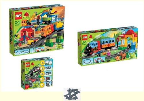 LEGO DUPLO Eisenbahn Super 10508 + Starter 10507