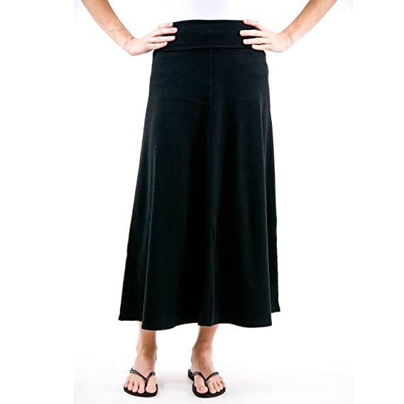Hard Tail Rolldown Long Skirt