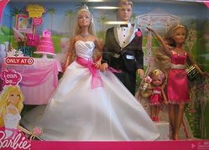 Barbie I Can Be a Bride Wedding Set