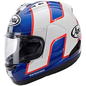 Nouveau casque de moto ARAI RX-7 GP LEON HASLAM