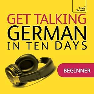 Get Talking German in Ten Days Speech