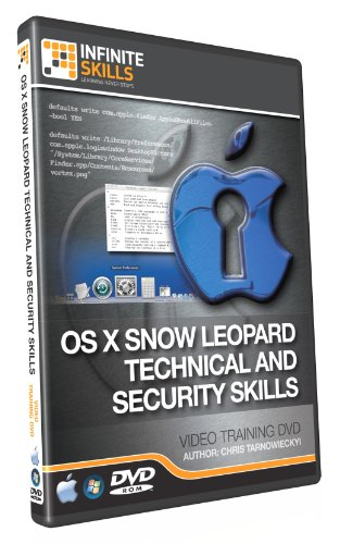 Advanced OS X Snow Leopard Technical - Security Training DVD - Tutorial Video (Win & Mac)