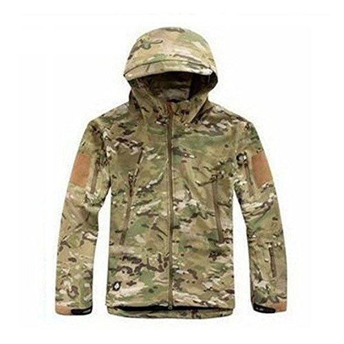 Waterproof-Military-Tactical-Combat-Softshell-Jacket-Outdoor-Camping-Hiking-Camouflage-Hoodie-Coat