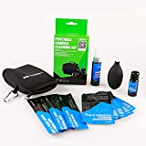 VSGO Professional Cleaning Kit Air Blower Cleaner +3x APS-C Frame Sensor Cleaning Swab +5x Camera Cleaning Cloth + Lens Cleaner + Camera Screen Cleaner + Pouch for DSLR Cameras Canon Nikon Pentax Sony DC515