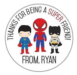 Super Hero Valentine\'s Day Stickers! (35)