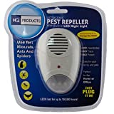 Ultrasonic Pest Repellent Anti Insect Repellent UK Plug Built in LED...