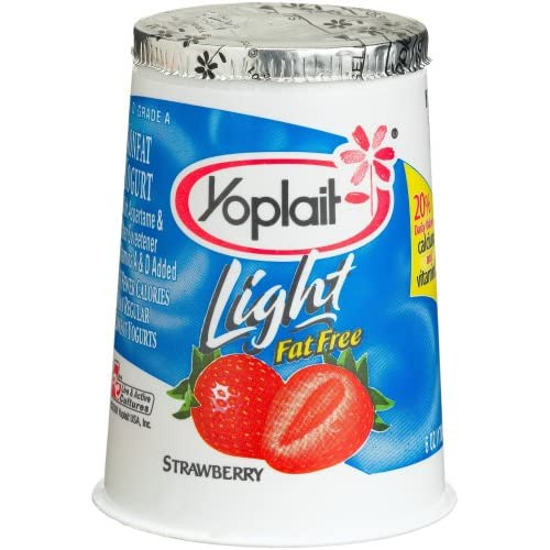 Strawberry Yoplait Yogurt