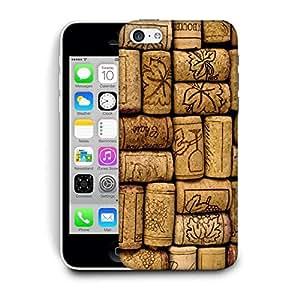 Snoogg Bottles Cork Designer Protective Back Case Cover For IPHONE 5C
