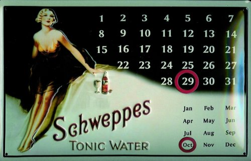 cartello-in-alluminio-calendario-art-deco-schweppes-tonic-300-x-200-mm