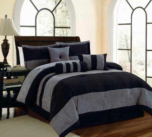Black King Size Beds 1032 front