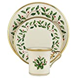 Lenox Holiday 12-Piece Dinnerware Set, Service for 4
