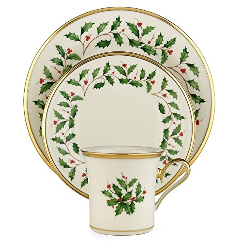 Lenox Holiday 12-Piece Dinnerware Set (Christmas Dishes compare prices)