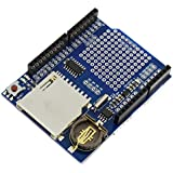 USPRO® XD204 Data Logger module Logging Shield data recorder shield for Arduino uno sd card (without battery)