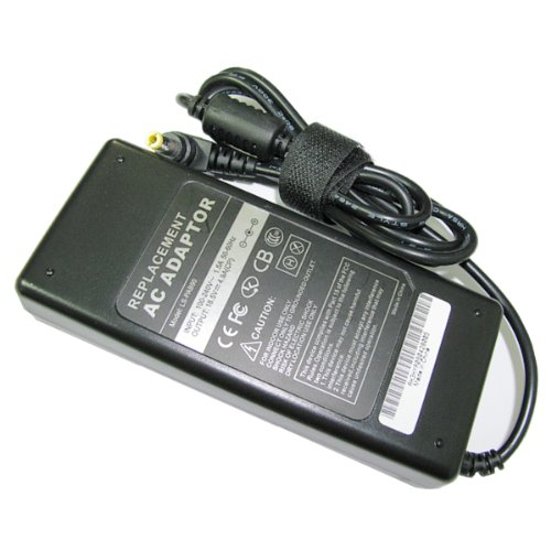 Laptop Notebook AC Adapter Charger Power Supply for HP Pavilion ZE1000 XT ZT ZE4000 ZE5700 N3000 N5000 Presario 2100 2500 HP Compaq Business Notebook nx9000 nx9005 nx9010 PN 239427-003 324816-001 F5104A 239428-001 324816-003 PPP014S 325112-001 239705-001 F4813A [18.5V 4.9A 90W]