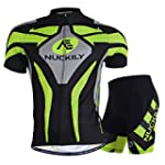 Nuckily Men's Bicycle Jersey Polyeste...