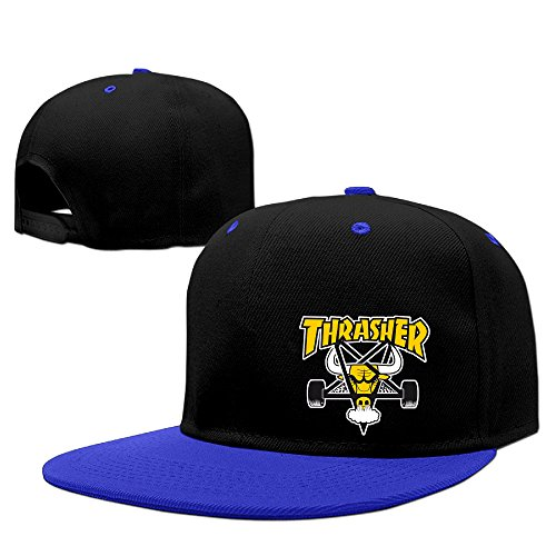 YOUDE Thrasher Magazine Hats Caps RoyalBlue (Thrasher Magazine Cap compare prices)