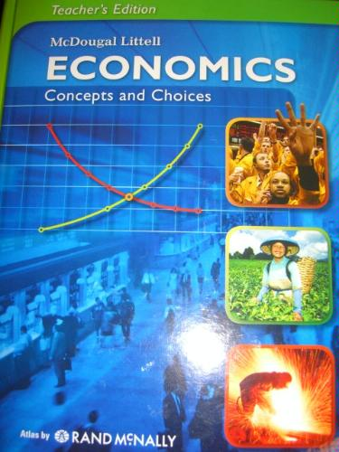 Economics. Concepts and Choices